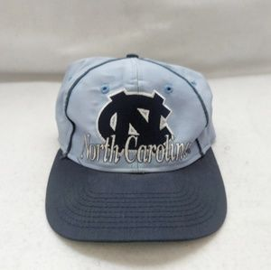 The Game Accessories - Vtg 80s UNC N. Carolina Tar Heels Snap Back Hat